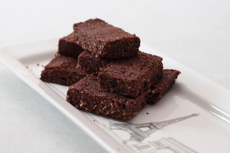 Brownie de beterraga sin lacteos